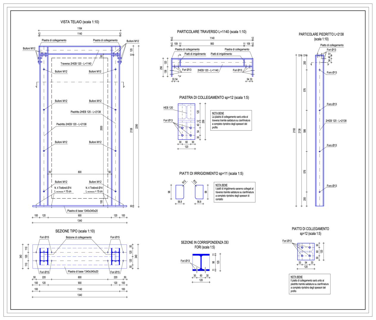 Progetti strutturali studio ing romeo aiello - Apertura vano in muratura portante ...