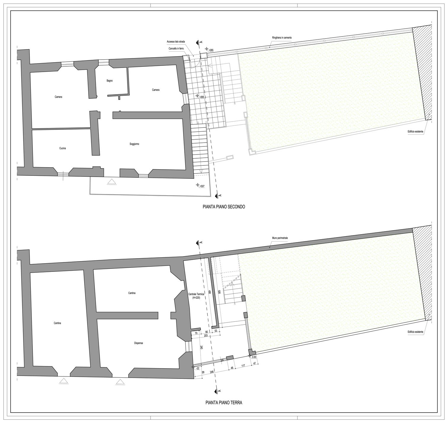 Progetti architettonici studio ing romeo aiello - Garage interrato ...