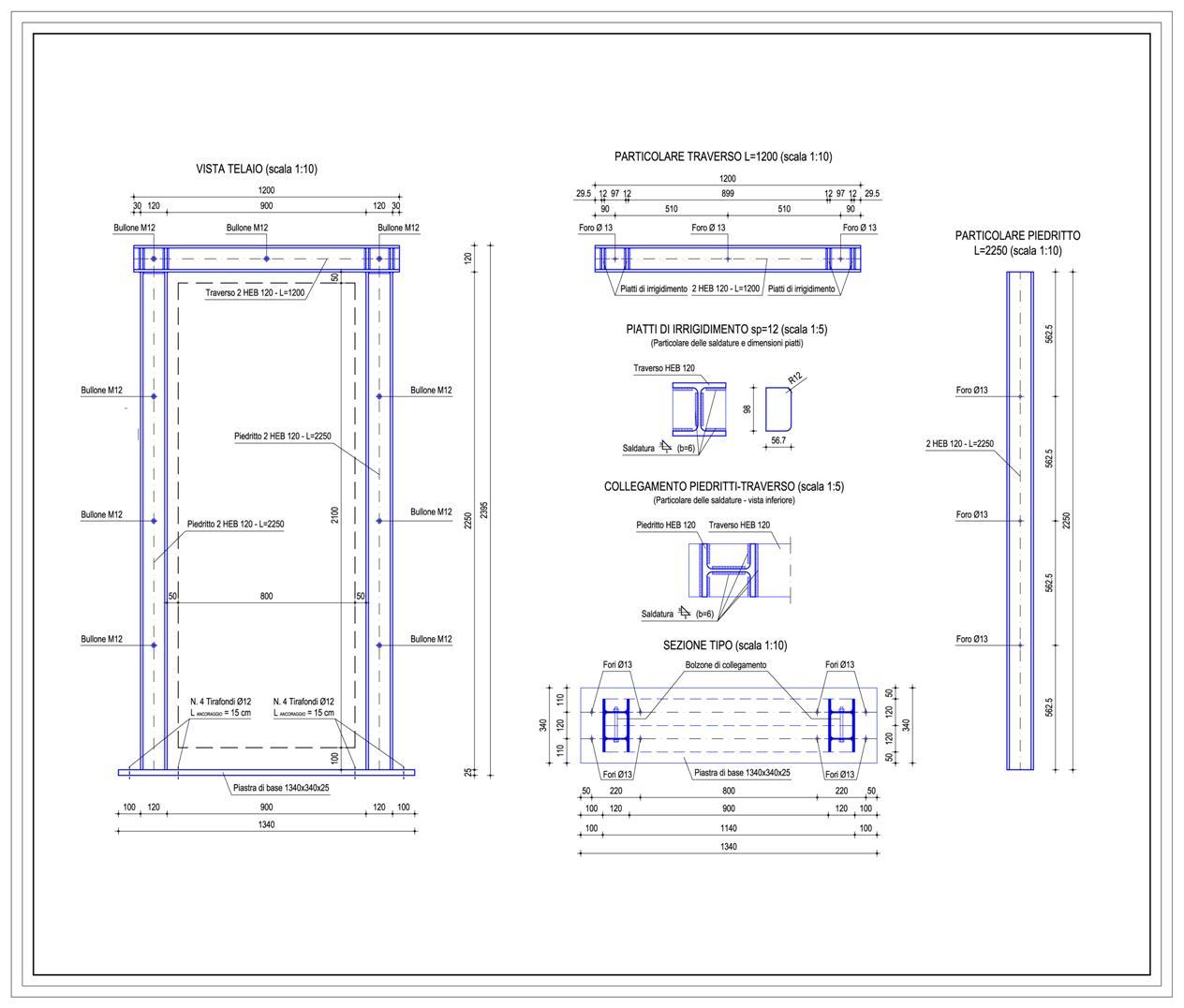 Progetti strutturali studio ing romeo aiello - Tracce su muri portanti ...